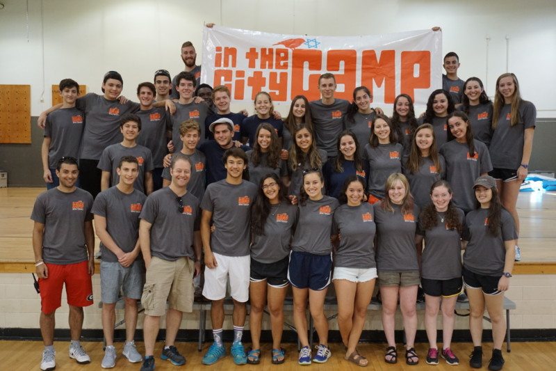 In the City Camp 2016 counselors
